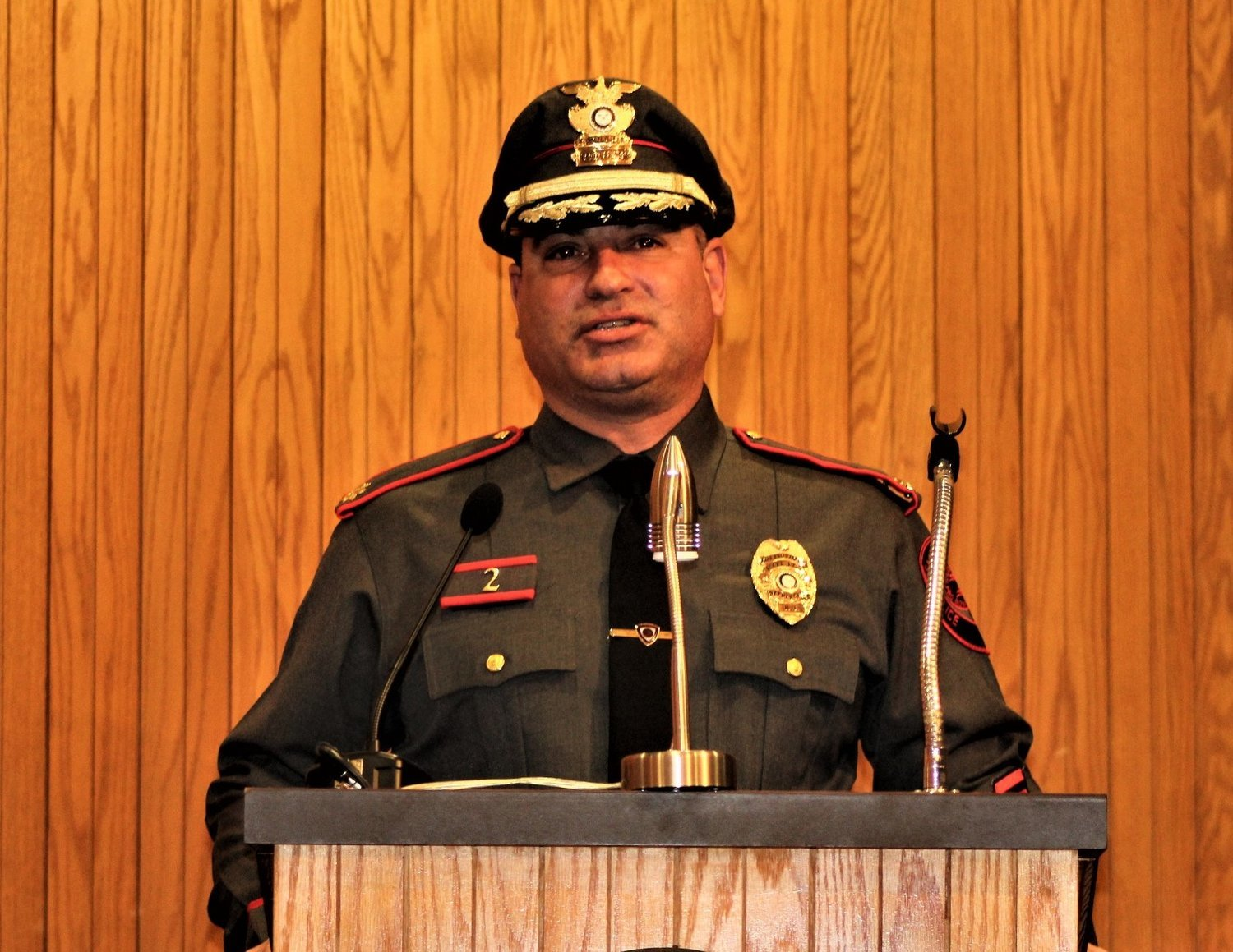 Police Chief Bill Nebus