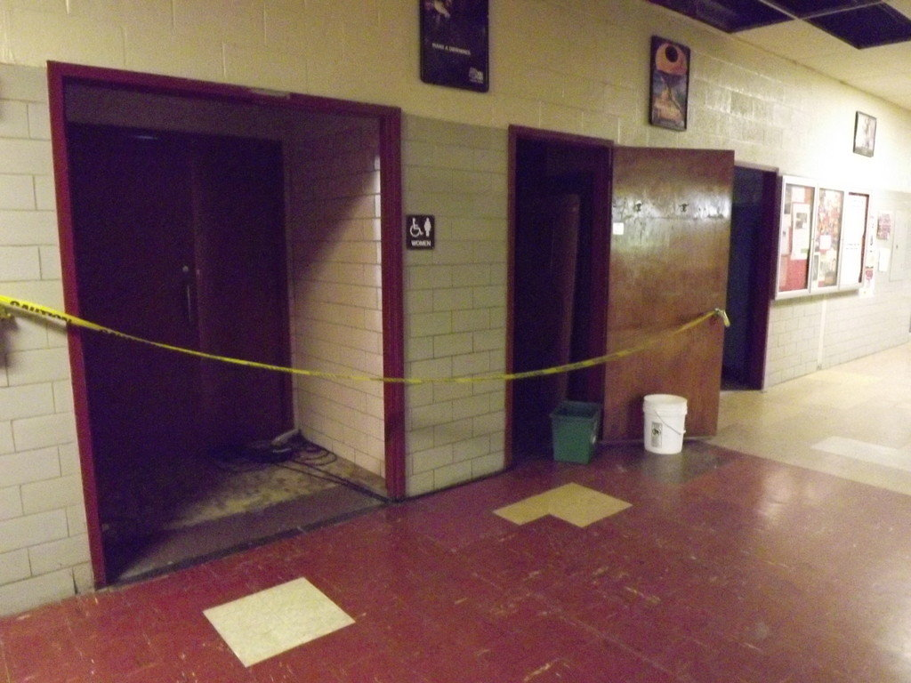 EPHS bathrooms were often out of order.