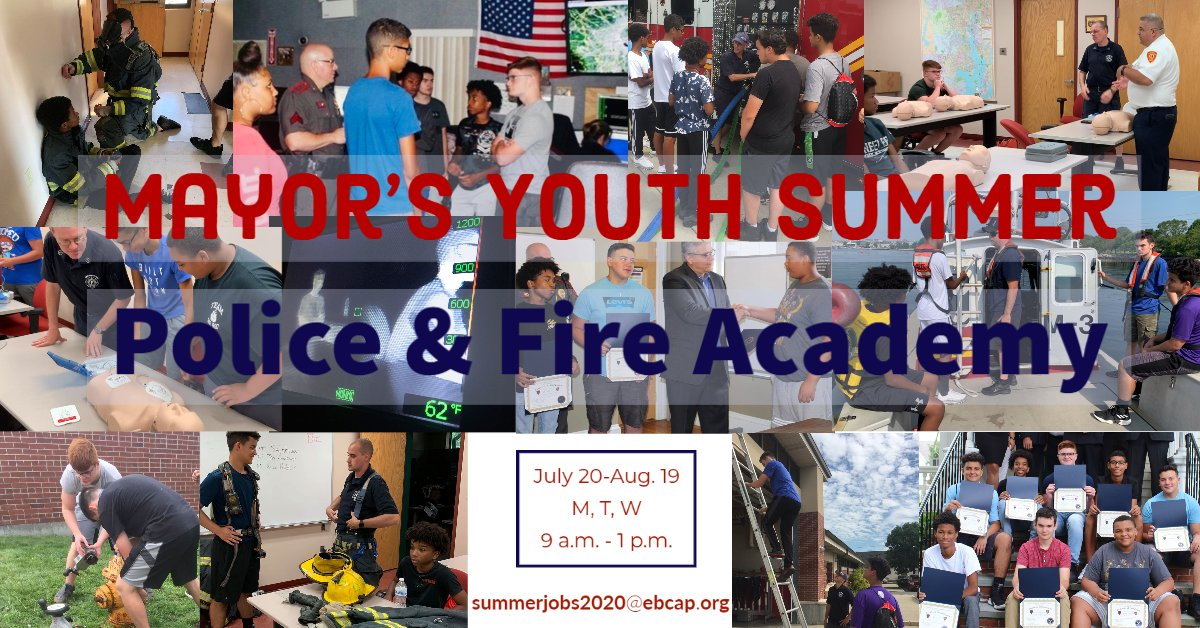 City to host 2nd annual Mayor's Youth Summer Police & Fire Academy