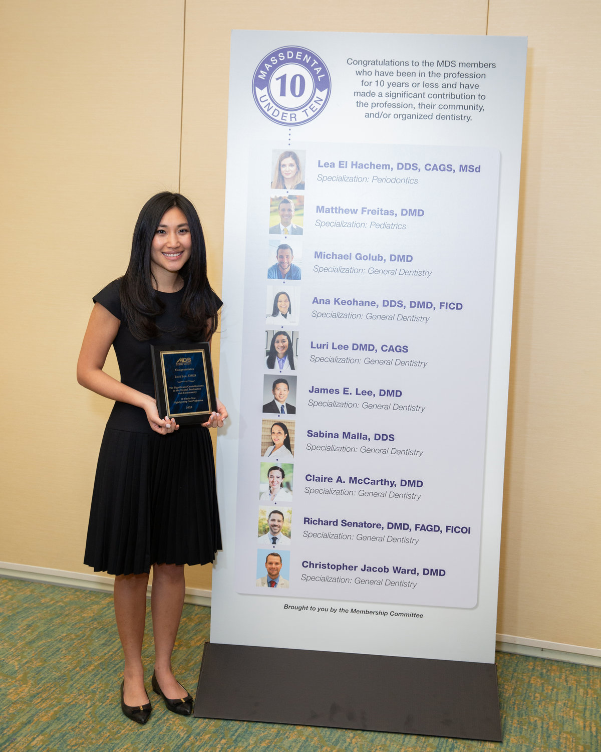 Dr. Luri Lee – MDS 10 Under Ten Award Honoree