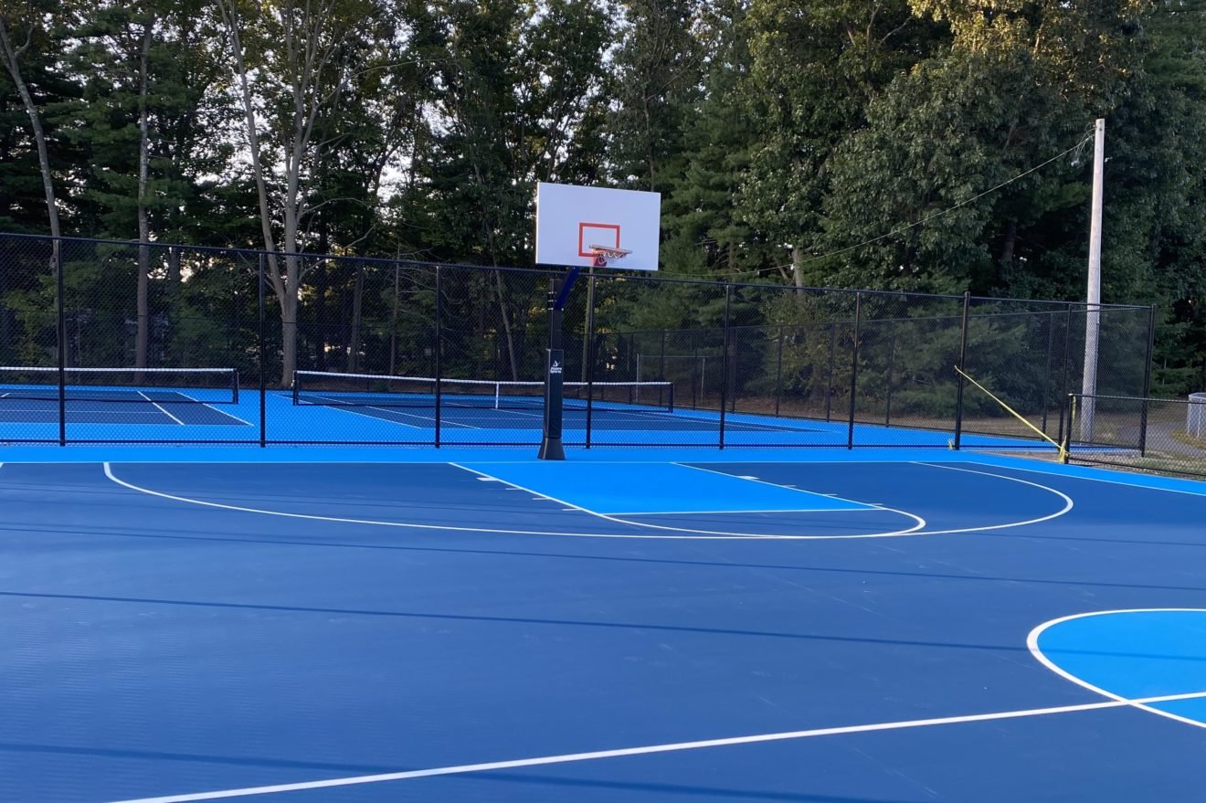 The newly-renovated basketball court at Seekonk High School will be opened in mid-October.