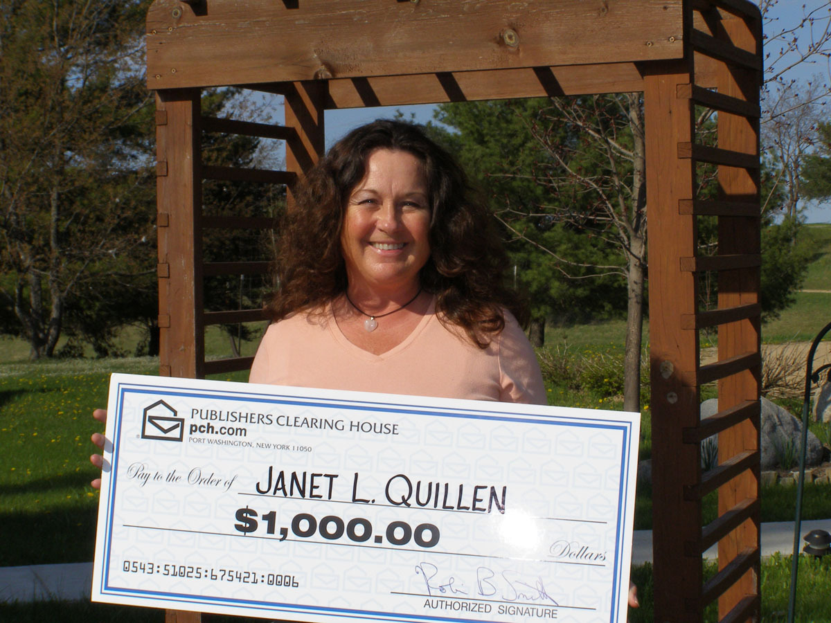 Rose City woman wins Publishers Clearing House giveaway - Ogemaw
