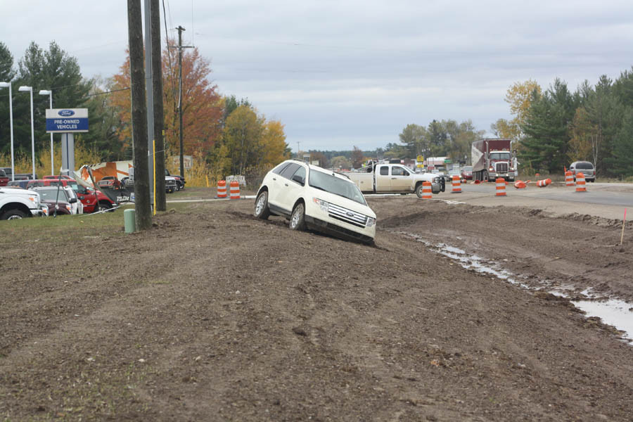 Dean Arbour Ford >> Single car accident on West M-55 - Ogemaw County Herald