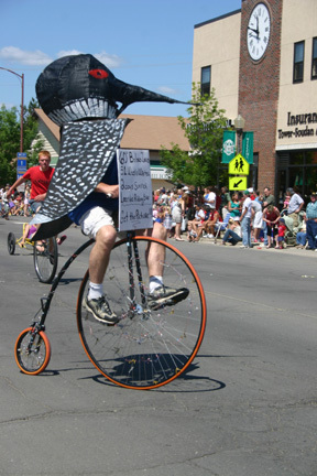 "Tower's ""Loony"" Mayor Steve Abrahamson"