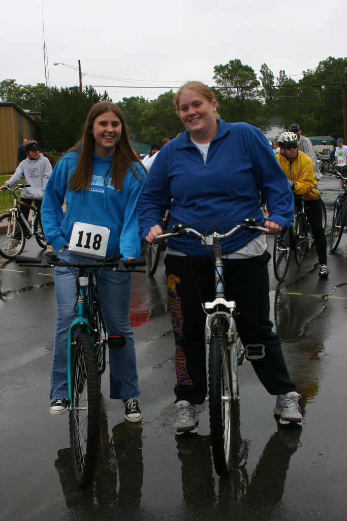 Two of the previous Ballard Turnbull Scholarship recipients participated in the race.