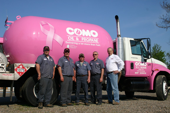 The friendly crew at Como Oil and Propane.