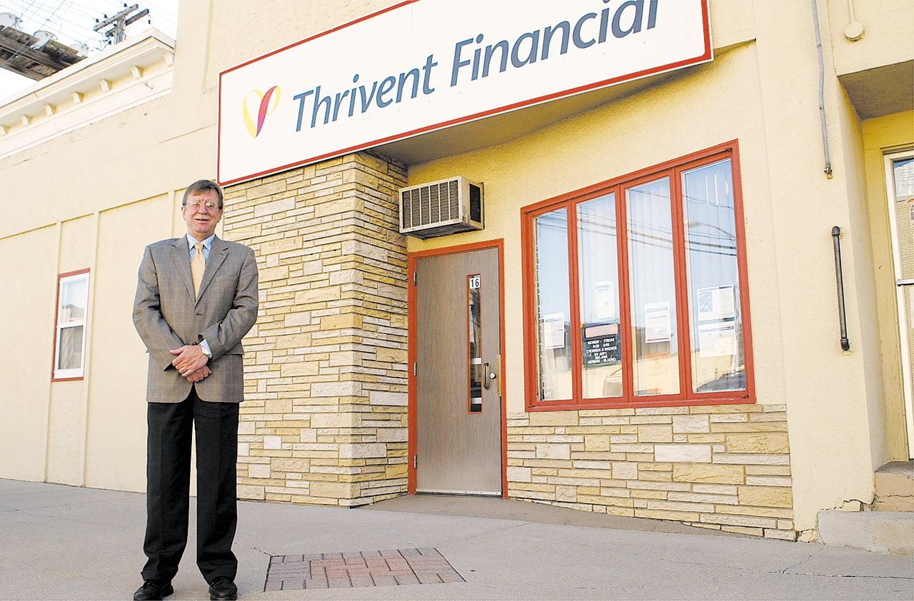 Herman Blasing is your Ely representative with Thrivent Financial