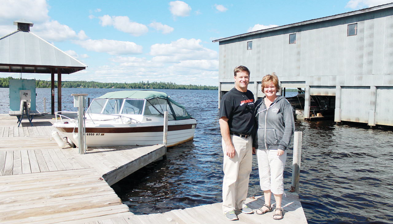 John and Gretchen Niemiste are the third generation owners of Aronson Boat Works.