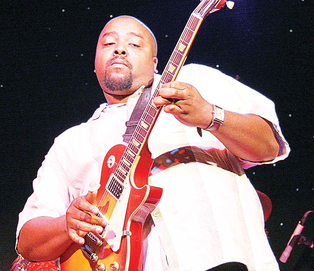 Shawn Holt will be joined by 11 other blues acts at the Boundary Waters Blues Fest in Winton.