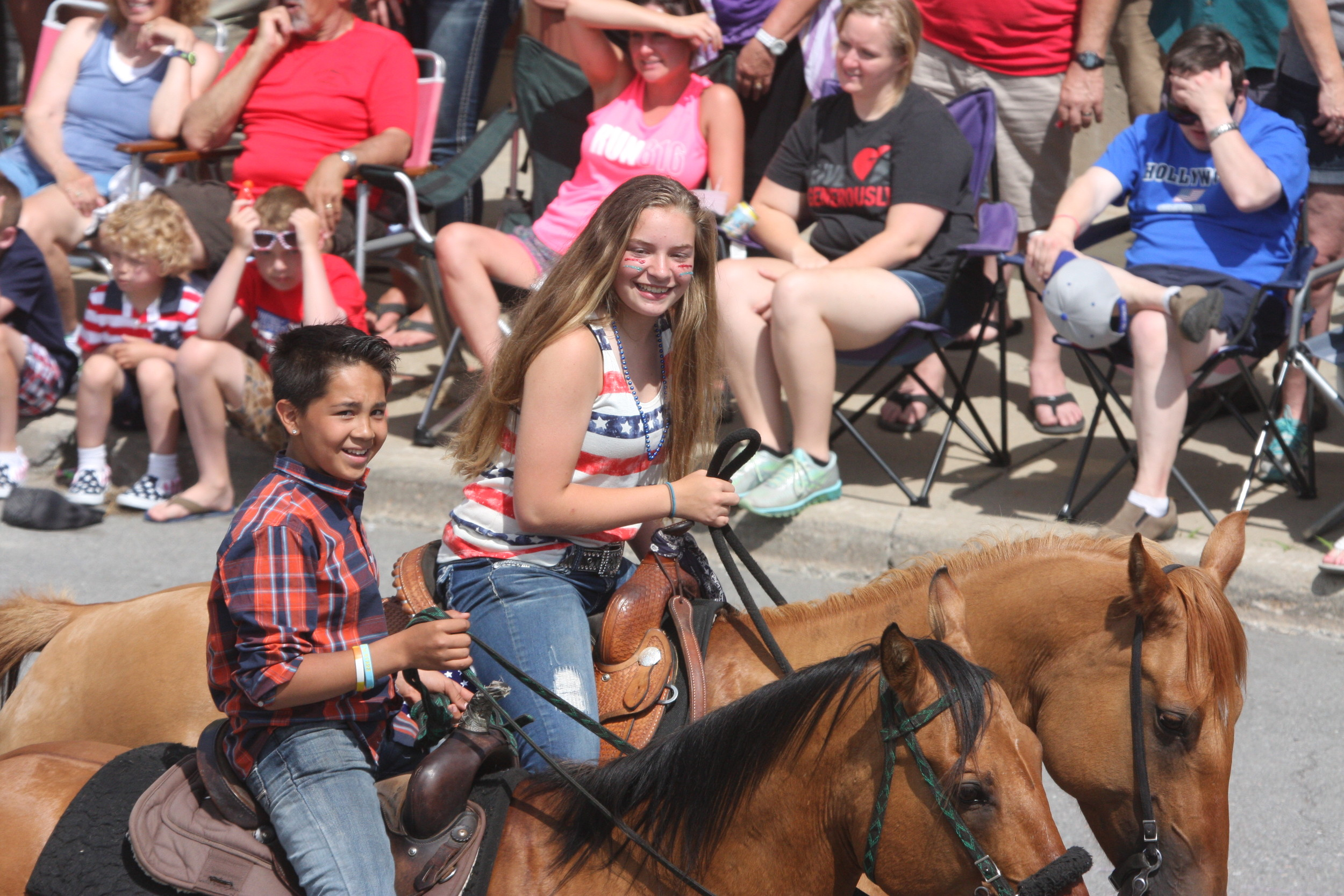 Horse riders in the Tower parade