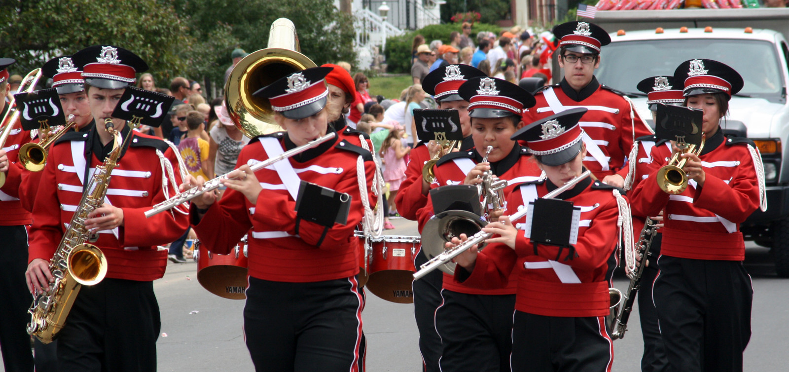 Ely High School marching band