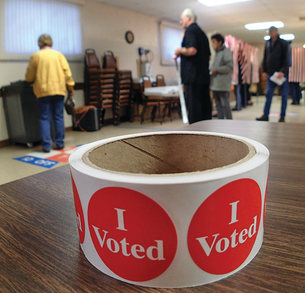 Early turnout was brisk in Ely Tuesday 