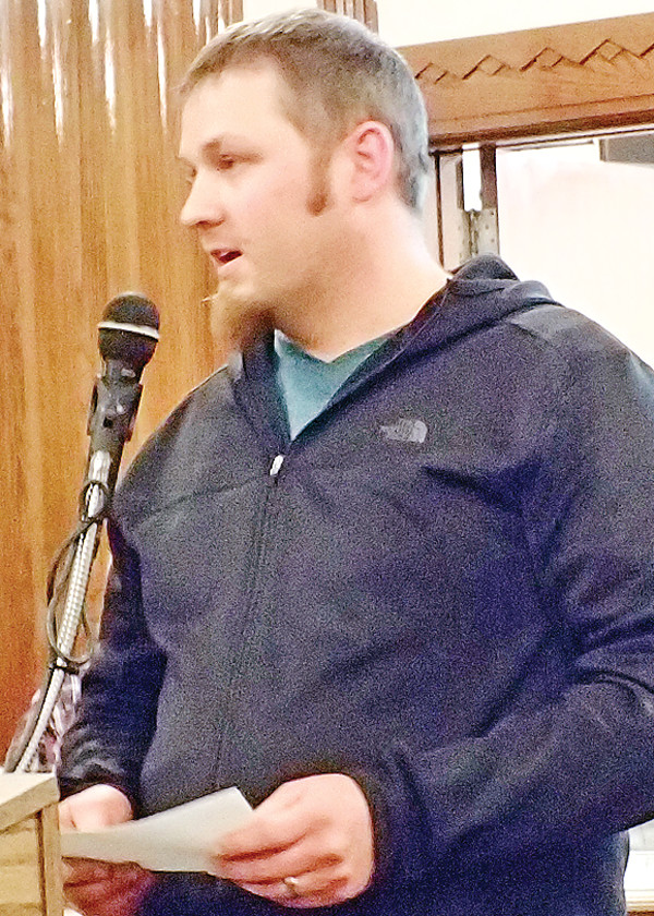 Forsman apologized for his actions during the council meeting.