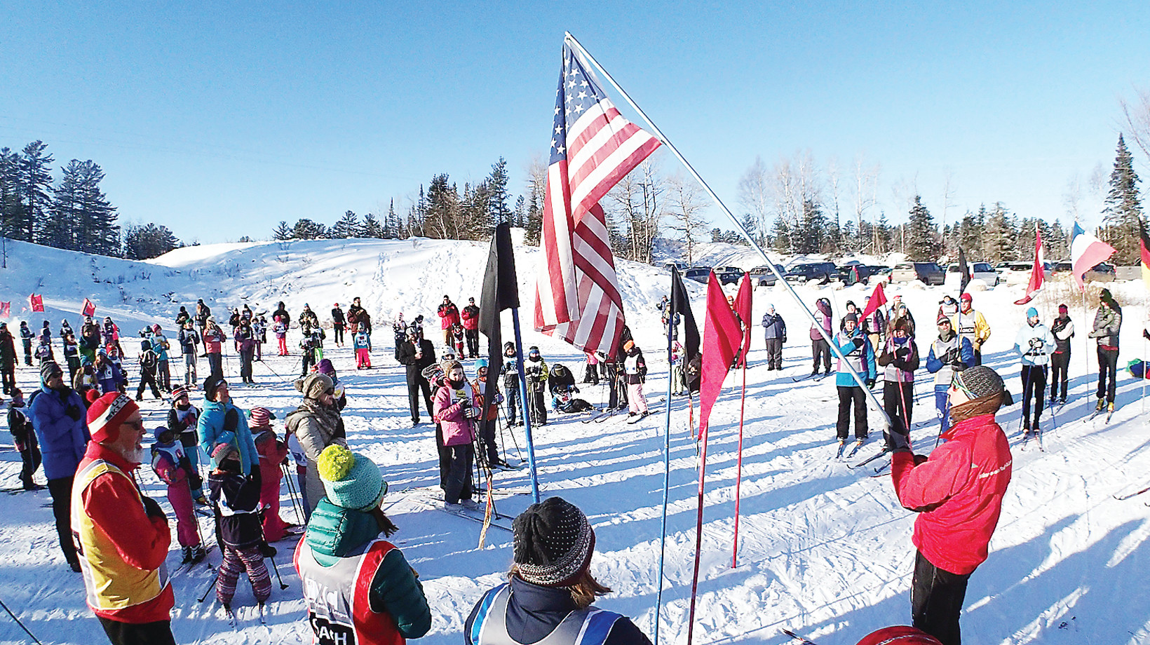Dozens of Ely-area families participate in the Minnesota Youth Ski League each winter at Hidden Valley Recreation Area. The popular learn-to-ski program is held in January and February.