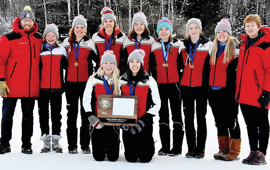 The Ely girls Nordic ski team captured the Section 7 championship on Thursday at Giants Ridge in Biwabik, earning a return trip to the state meet.