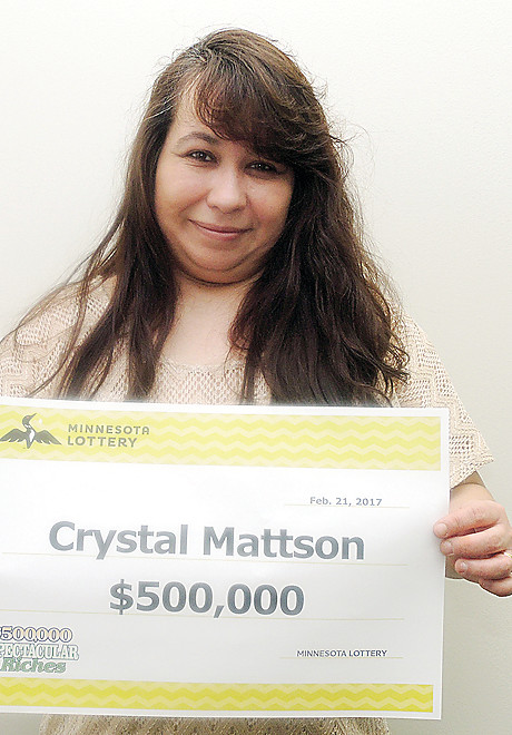 Tower resident claims $500,000 lottery prize | The Timberjay