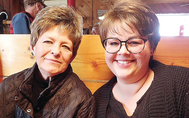 Valerie Ohotto, and daughter Rachel Fultz, are preparing to permanently close the Montana Café on Nov. 18. It's been a community meeting place for decades.