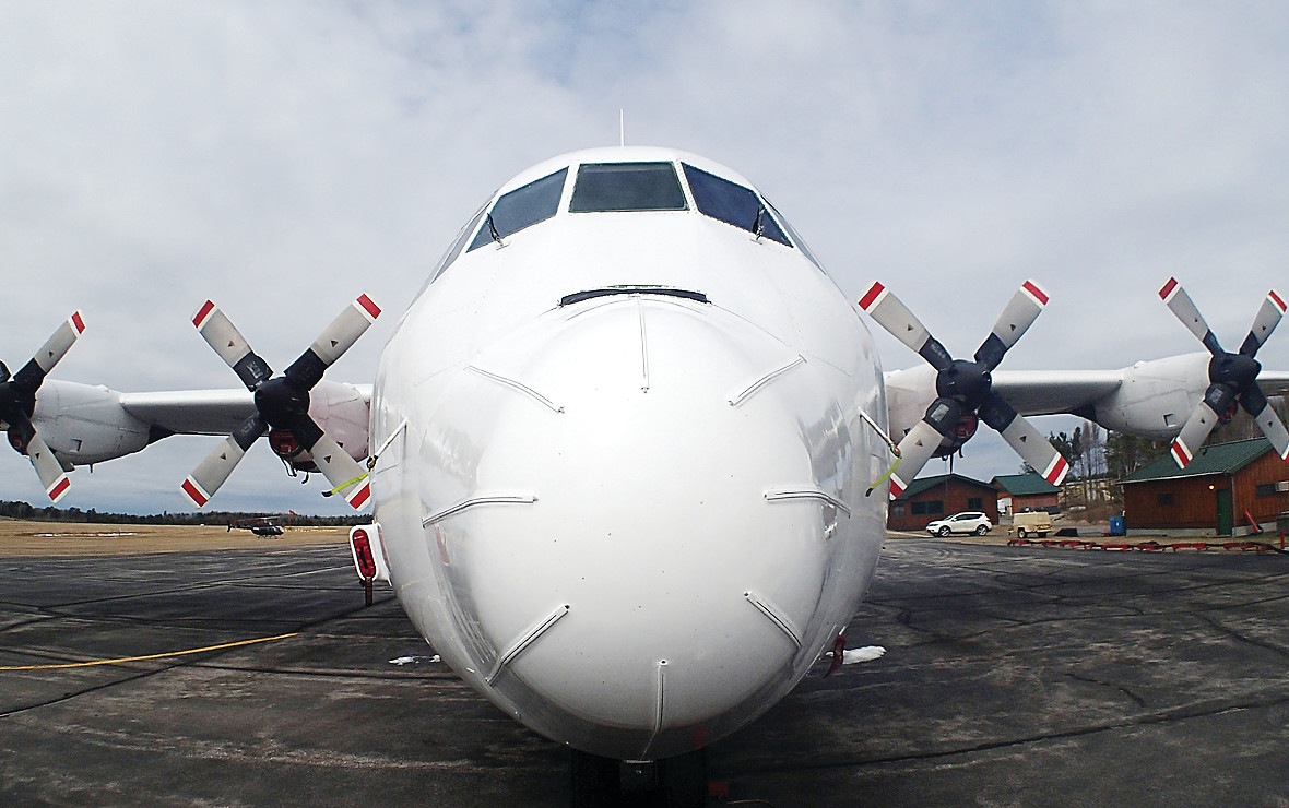 Contracted C-130 air tankers have been regularly stationed at the Ely Airport during fire seasons in the past. That may change based on an ongoing review of federal aerial resources.