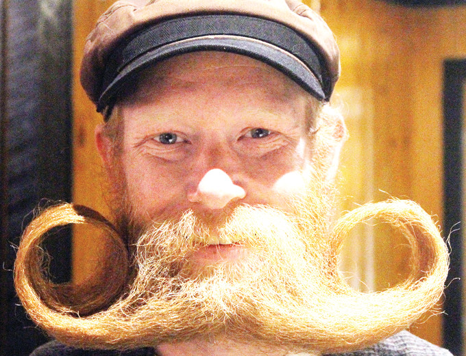 Aaron Magnuson, of Ely, took home the Friday Night Throwdown Beard Belt last weekend at the Great Nordic Beardfest held at the Boathouse Brew Pub. It was all part of the Ely Winter Festival, which continues through Sunday.