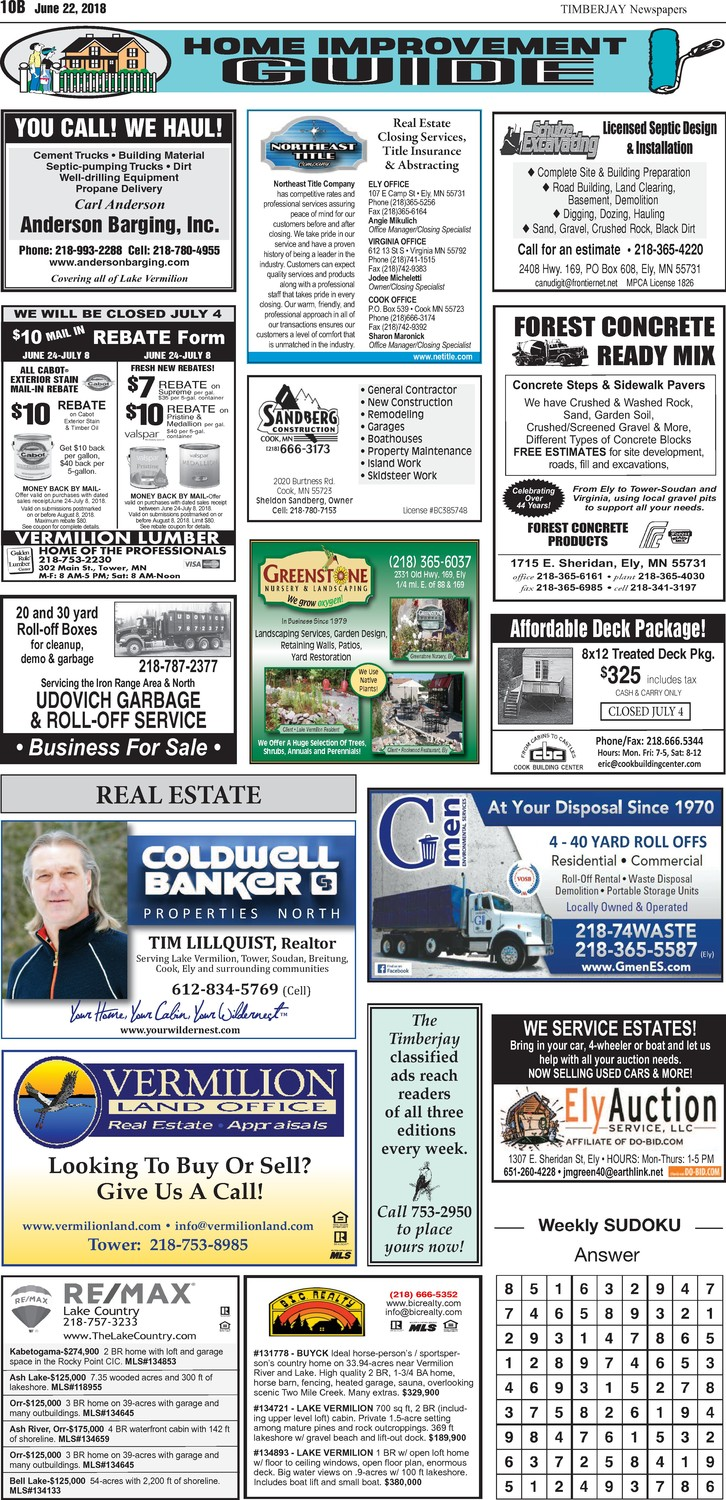 Click here for the legal notices and classifieds on page 10B