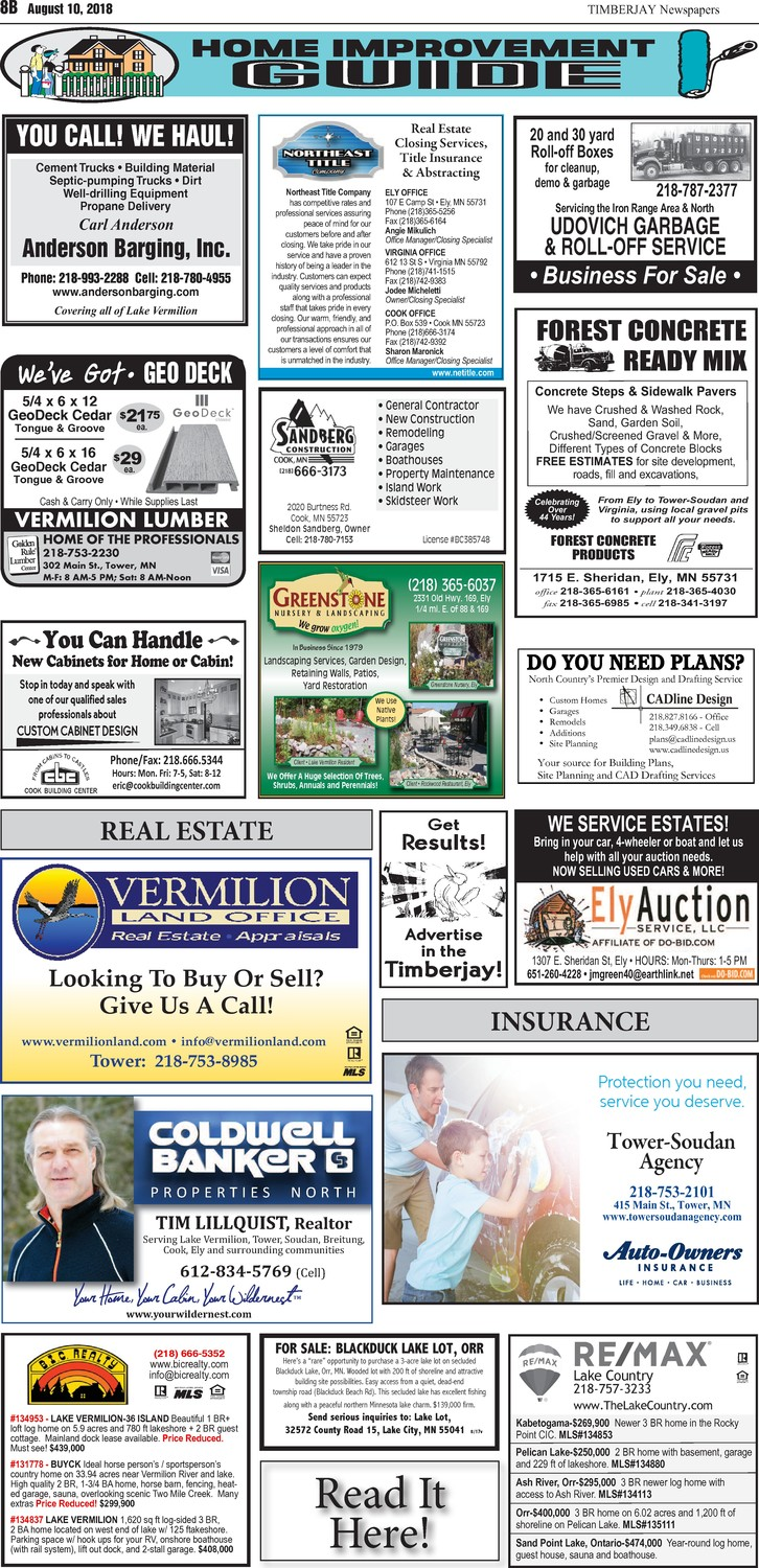 Click here for the legals and classifieds on page 6B