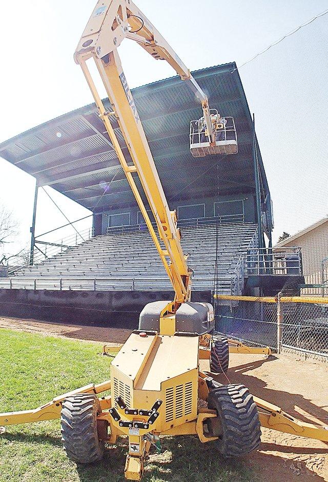 Veterans Memorial Field, on the campus of the Ely School District, has undergone a $45,000 facelift in recent months.