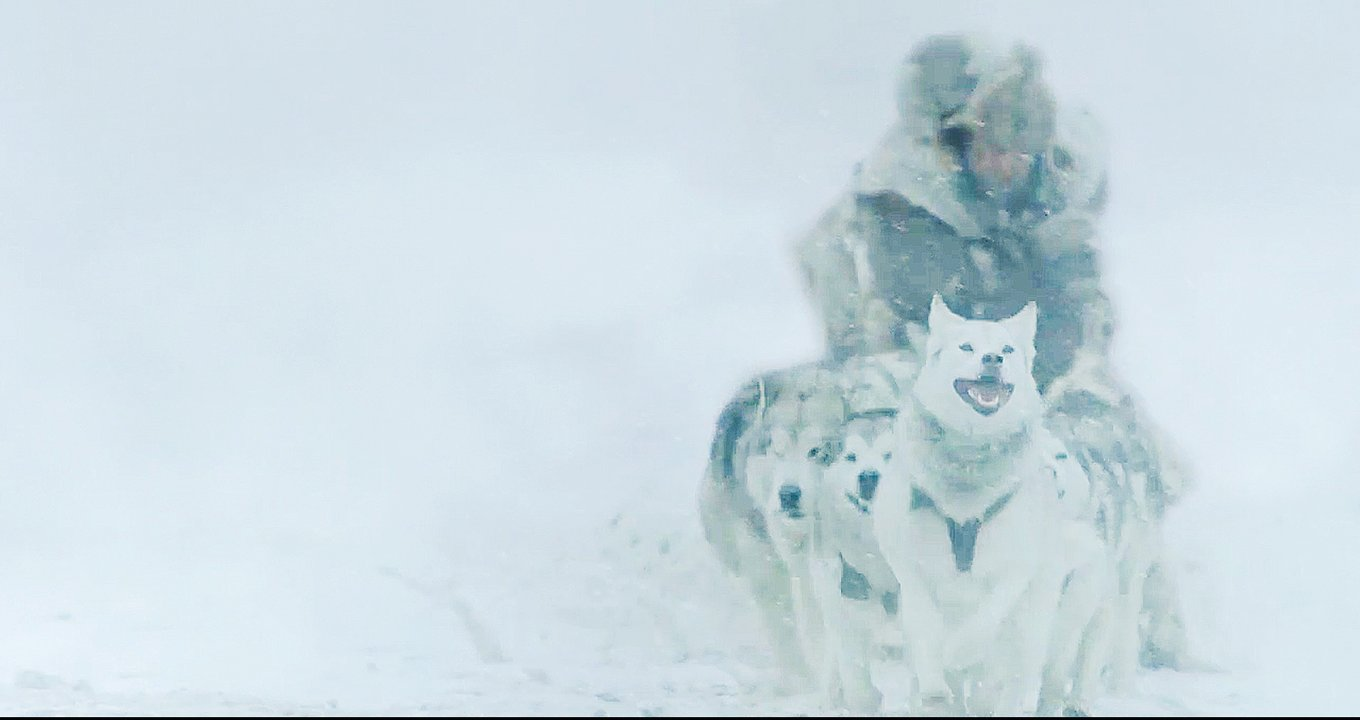 "A still from the upcoming movie ""The Great Alaskan Race,"" which hits theaters on Oct. 25."