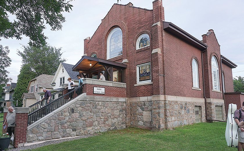 A 100-year-old synagogue is now owned by the Northern Lights Music Festival which will use it as a performance and community events venue.