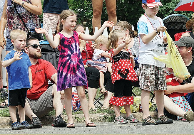 Young fans of North Country Fourth of July parades will miss out on the candy this year as communities cancel events.