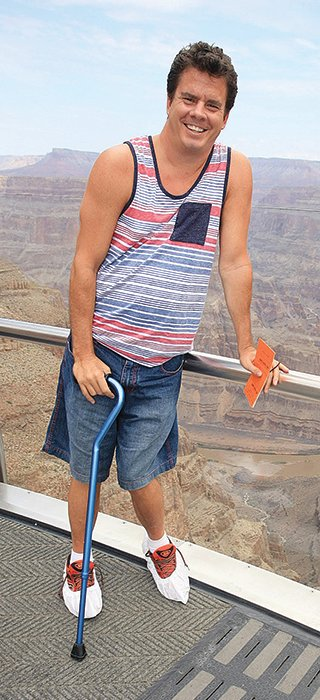 Jason Goulet, formerly of Tower, visited the Grand Canyon last year.
