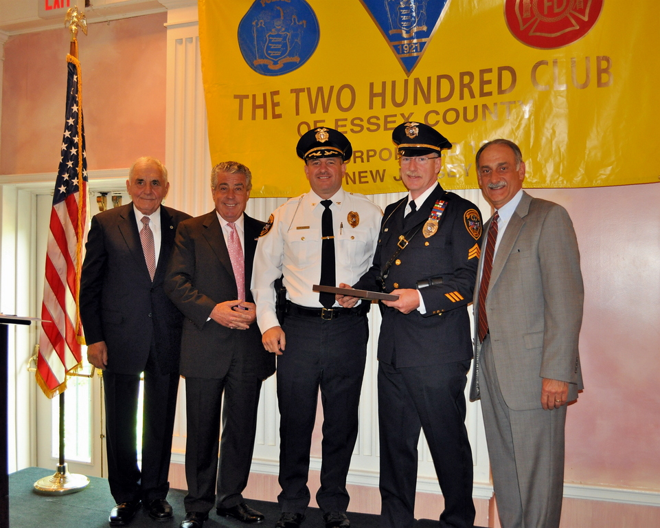 Heroes in Montclair and Fairfield among those honored by 200 Club - read story in TOP STORIES.