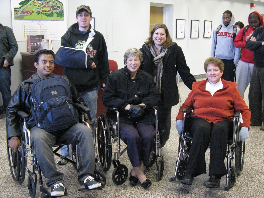 Being Aware and Living in a Wheelchair All Day Drives