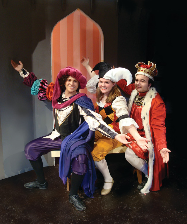 Once Upon a Mattress - at Mount Saint Dominic - see events or stories.
