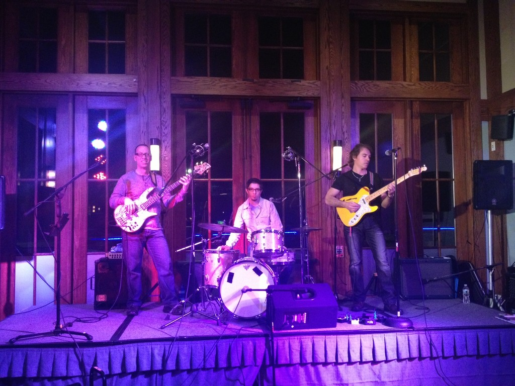 The Paul Gargiulo Band on stage at McLoone's Boathouse in West Orange.