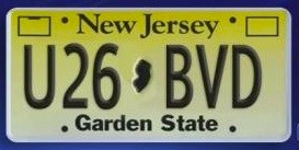 A silver 2012 Range Rover is being sought by police. Here is the license plate of that car, driven away by suspects in this murder/carjacking.