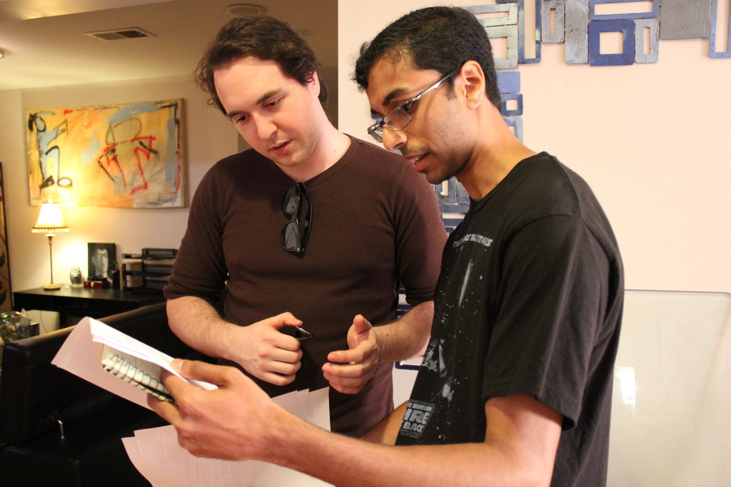 Co-Director David Waserman and Assistant Director Suraj Sundar