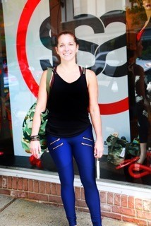 Melissa Sowa-Legters is the owner of Sweat & Strut in Upper Montclair.