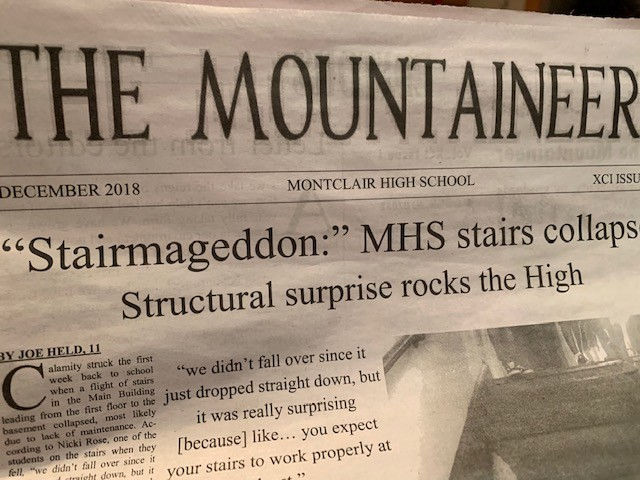The Mountaineer is the MHS newspaper, run by high school editors, reporters and staff that bring in-depth news to light in their printed issues.