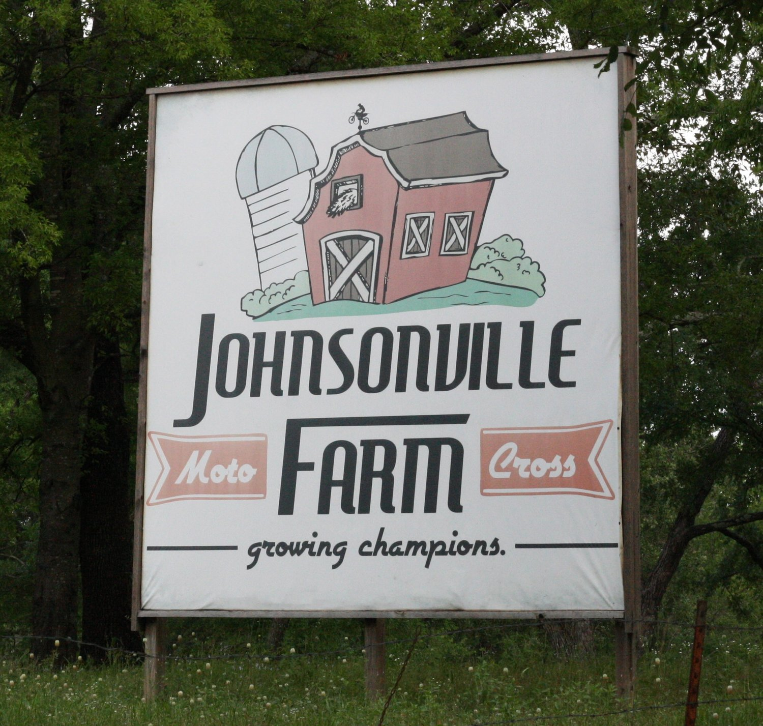 The Johnsonville Motocross Farm just south of Yantis hosts national level qualifying races.