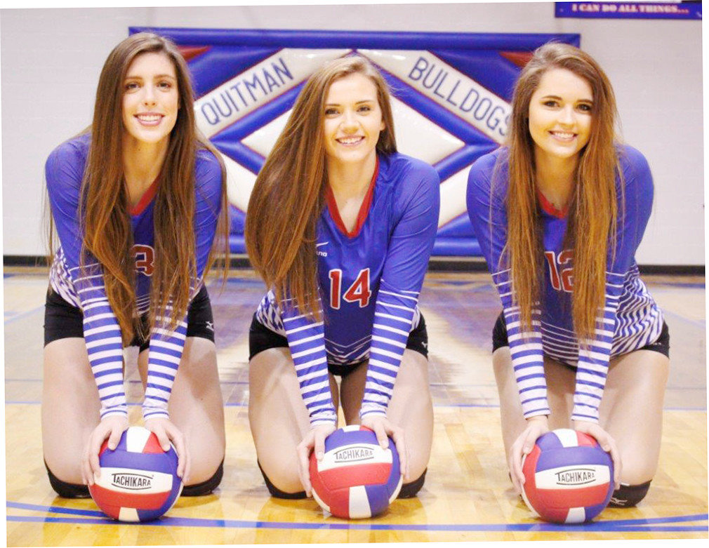 Quitman Triplets Going Out In Style Wood County Monitor