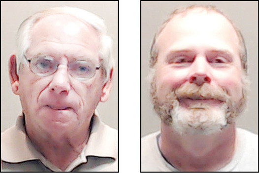 Former Sheriff Jim Brown (left) was indicted on counts of official oppression and another for abuse of his official capacity. More indictments were returned on Miles Tucker (right) by a Wood County Grand Jury.