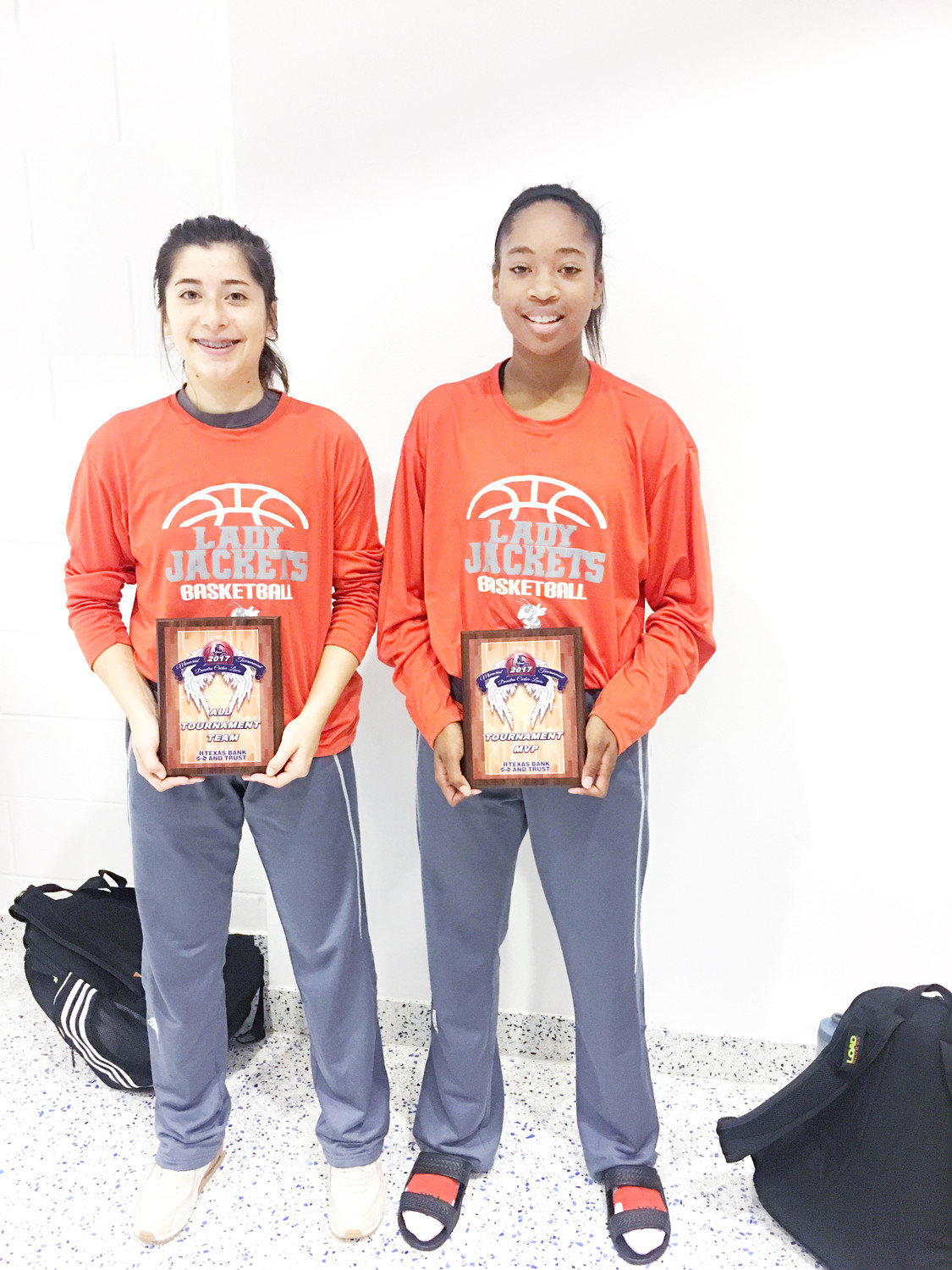 Sabria Dean and Vanessa Spurgeon were awarded All Tournament Team honors and Dean won MVP of the tournament as well.