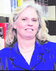 Librarian Mary Hurley