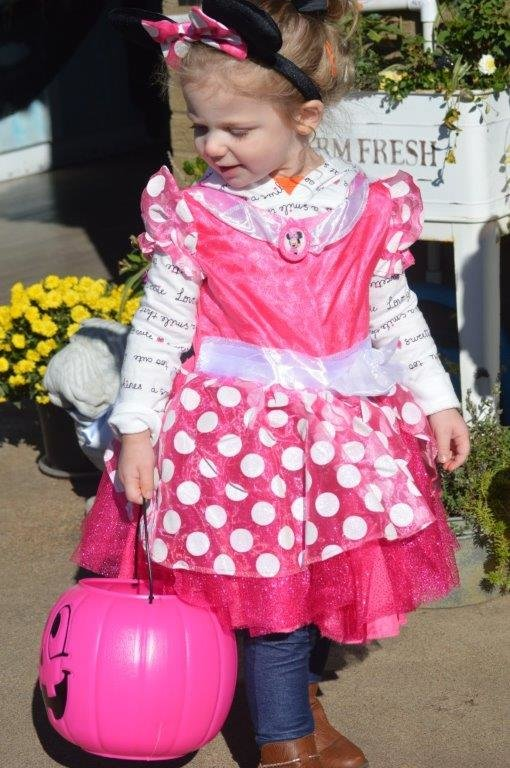 Olivia Wade had a great time at the Candy Walk last week in downtown Quitman.