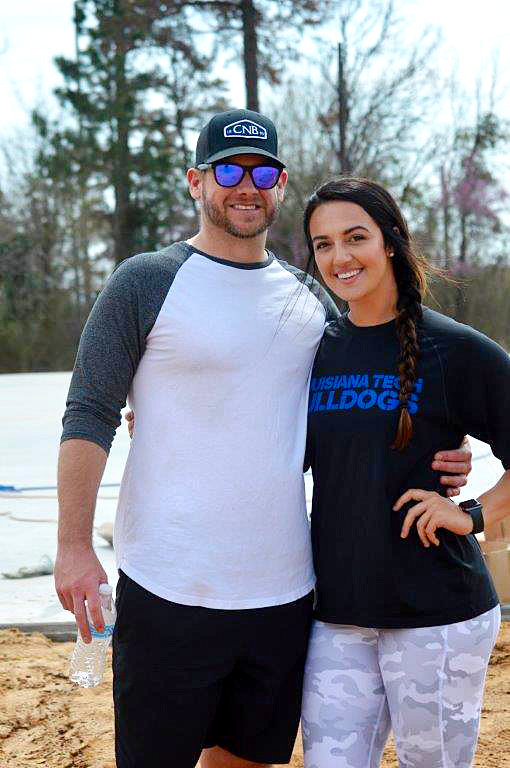 Adam Moore and Ali Galaz are the owners of A&A Academy, a baseball and softball instruction facility being built just east of Mineola.