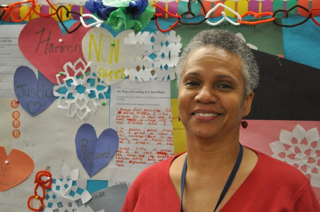 Audrey Roll is the passionate head children's librarian at Joseph E. Coleman Regional Library in Germantown.