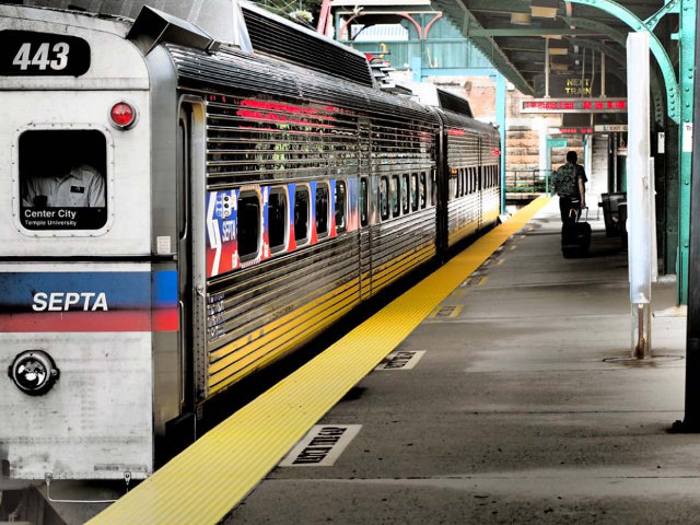 """Chestnut Hill resident Steve Feistel won first prize in the Chestnut Hill Community Association's first annual photo competition with his photo """"All Aboard."""""""