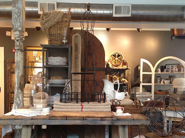 A variety of items offered at the Isabella Sparrow boutique on Germantown Avenue.
