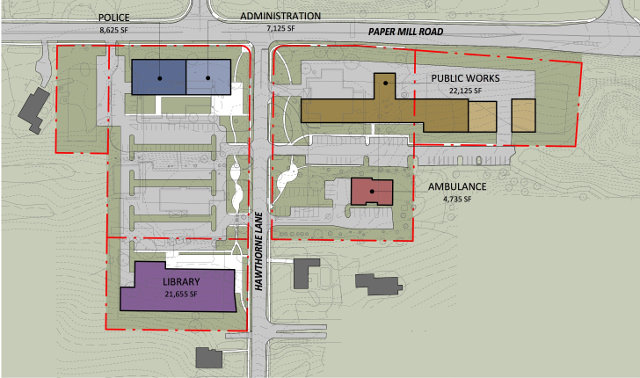 Plans for a $20 million municipal project in Springfield Township.