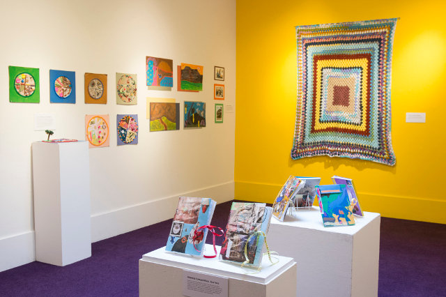 """""""Firefly Illuminations,"""" the exhibit created by the students at Carson Valley Children's Aid in Flourtown, will be at the Helen Millard Children's Gallery at Woodmere Art Museum through Feb. 22. (Photo by Sam Fritch)"""